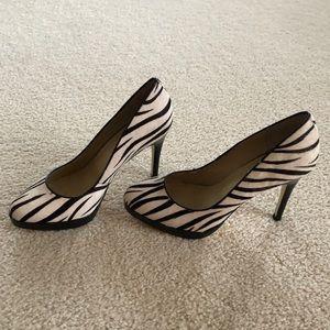 Steve Madden zebra print heels